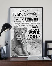 DAUGHTER - LION WHENEVER YOU FEEL OVERWHELMED 16x24 Poster lifestyle-poster-2