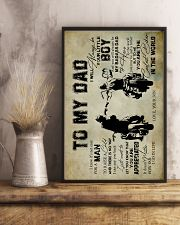 To My Dad - Motorbike  16x24 Poster lifestyle-poster-3