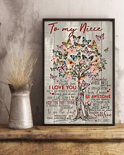 TO MY NIECE 16x24 Poster lifestyle-poster-3