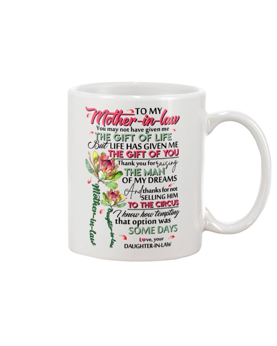 TO MY MOTHER-IN-LAW - KING PROTEA Mug