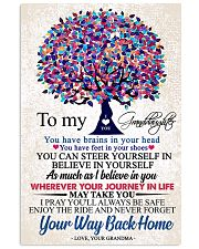 GRANDMA TO GRANDDAUGHTER 16x24 Poster front