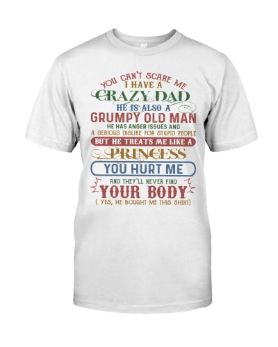 TO MY DAUGHTER - CRAZY DAD - BOUGHT ME