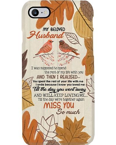 PHONE CASE - MY ANGEL HUSBAND - MISS YOU