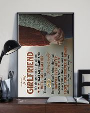 TO MY GIRLFRIEND - HAND IN HAND - I LOVE YOU 16x24 Poster lifestyle-poster-2