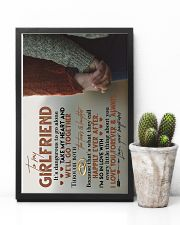 TO MY GIRLFRIEND - HAND IN HAND - I LOVE YOU 16x24 Poster lifestyle-poster-8