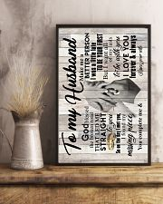 To My Husband - Hands - So On The Day I Met You 16x24 Poster lifestyle-poster-3