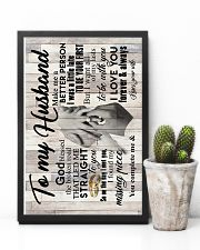 To My Husband - Hands - So On The Day I Met You 16x24 Poster lifestyle-poster-8
