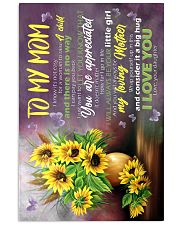 To My Mom - Sunflower - Poster 16x24 Poster front