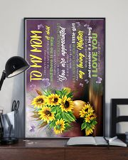 To My Mom - Sunflower - Poster 16x24 Poster lifestyle-poster-2