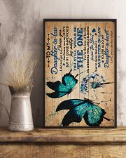To My Daughter-in-law - Butterfly - Dandelion 16x24 Poster lifestyle-poster-3