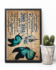 To My Daughter-in-law - Butterfly - Dandelion 16x24 Poster lifestyle-poster-8