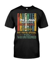 Daughter-in-law - Vintage - You Volunteered Classic T-Shirt front