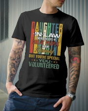 Daughter-in-law - Vintage - You Volunteered Classic T-Shirt lifestyle-mens-crewneck-front-6
