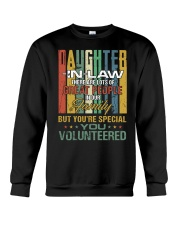 Daughter-in-law - Vintage - You Volunteered Crewneck Sweatshirt thumbnail