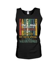 Daughter-in-law - Vintage - You Volunteered Unisex Tank thumbnail