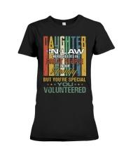 Daughter-in-law - Vintage - You Volunteered Premium Fit Ladies Tee thumbnail