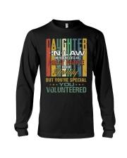 Daughter-in-law - Vintage - You Volunteered Long Sleeve Tee thumbnail