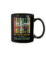 Daughter-in-law - Vintage - You Volunteered Mug thumbnail
