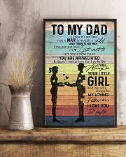 TO MY DAD - VINTAGE - YOU ARE APPRECIATED 16x24 Poster lifestyle-poster-3