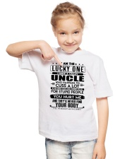 I'M THE LUCKY ONE - I HAVE A CRAZY UNCLE Youth T-Shirt lifestyle-youth-tshirt-front-2