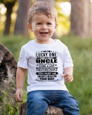 I'M THE LUCKY ONE - I HAVE A CRAZY UNCLE Youth T-Shirt lifestyle-youth-tshirt-front-4
