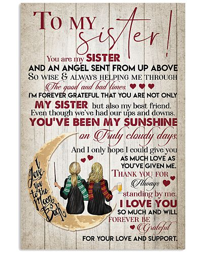 TO MY SISTER - GIRLS - TO THE MOON AND BACK