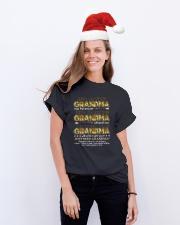 GRANDMA Classic T-Shirt lifestyle-holiday-crewneck-front-1