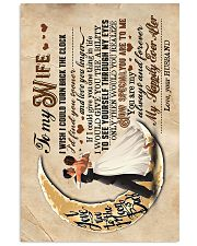 To Wife - Dancing Together - I Wish I Could Turn  16x24 Poster front