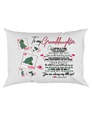 GRANDMA TO GRANDDAUGHTER - T REX - ANGEL Rectangular Pillowcase back