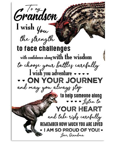 TO GRANDSON - CARNOTAURUS - I WISH YOU