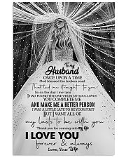 To Husband - Once Upon A Time God Blessed  16x24 Poster front