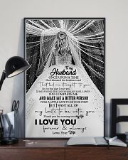 To Husband - Once Upon A Time God Blessed  16x24 Poster lifestyle-poster-2