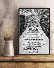 To Husband - Once Upon A Time God Blessed  16x24 Poster lifestyle-poster-3