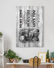 Dad to Sons - Never Feel That You Are Alone  20x30 Gallery Wrapped Canvas Prints aos-canvas-pgw-20x30-lifestyle-front-03