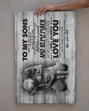 Dad to Sons - Never Feel That You Are Alone  20x30 Gallery Wrapped Canvas Prints aos-canvas-pgw-20x30-lifestyle-front-29