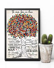 MOM AND DAD TO SON IN LAW 16x24 Poster lifestyle-poster-8