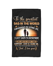 TO THE GREATEST DAD IN THE WORLD Hand Towel thumbnail