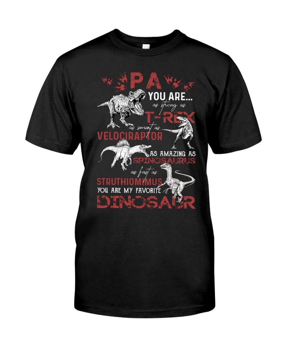 T-SHIRT - PA - FAVORITE DINOSAUR Classic T-Shirt