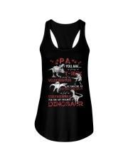 T-SHIRT - PA - FAVORITE DINOSAUR Ladies Flowy Tank thumbnail