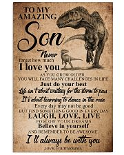 MOMMA TO SON 16x24 Poster front