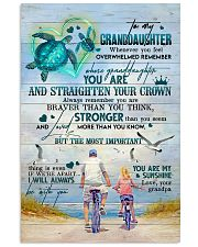 Grandpa to Granddaughter - You Are My Sunshine 16x24 Poster front