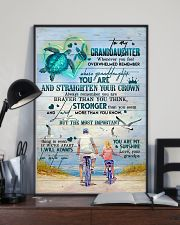 Grandpa to Granddaughter - You Are My Sunshine 16x24 Poster lifestyle-poster-2