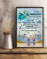 Grandpa to Granddaughter - You Are My Sunshine 16x24 Poster lifestyle-poster-3
