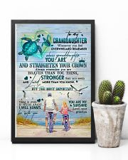 Grandpa to Granddaughter - You Are My Sunshine 16x24 Poster lifestyle-poster-8