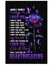 Angel - Galaxy Rose - I Miss You - Poster Vertical Poster tile
