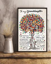 GRANDMA TO GRANDDAUGHTER 16x24 Poster lifestyle-poster-3