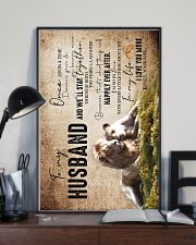 To My Husband - Lions - Once Upon A Time - Poster 16x24 Poster lifestyle-poster-2