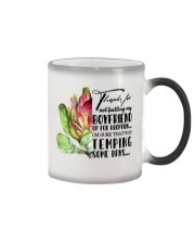 TO FUTURE MOTHER-IN-LAW - PROTEA - THANKS FOR Color Changing Mug thumbnail