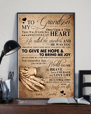TO MY GRANDSON 16x24 Poster lifestyle-poster-2