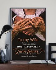 To My Wife - You Are My Queen Forever - Poster 16x24 Poster lifestyle-poster-2